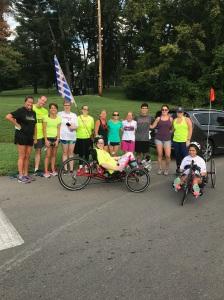 Groupshot of Achilles Fall Training